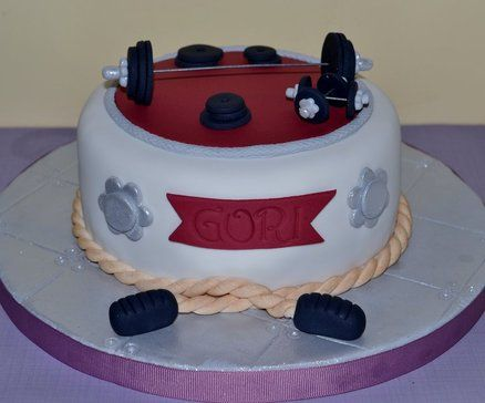 1000+ ideas about Crossfit Cake on Pinterest Gym cake ...