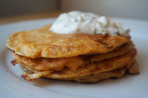 Sweet potato pancakes | Recipe
