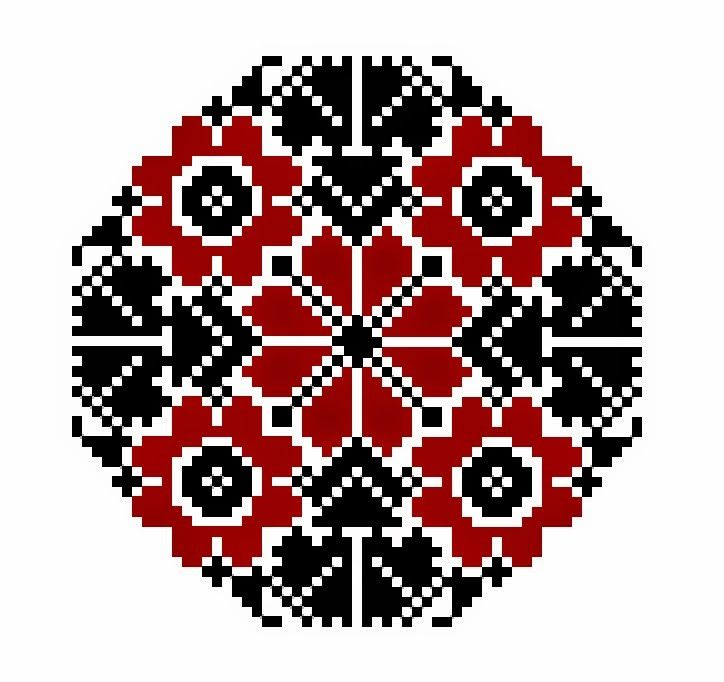 Hello all, Today I will focus on a type of embroidery motif found in North Germany, specifically in the Vierlande area. This is a gr...