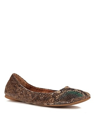 Lucky Brand Flats - Emmie Scrunchy Ballet   Bloomingdale's $59.00