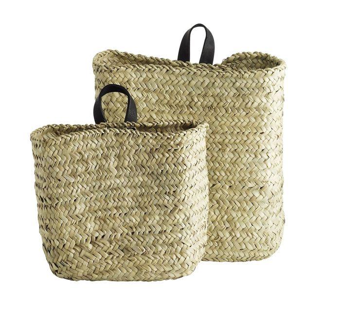 Set of Baskets | Wall Hung, god for shaker peg rail