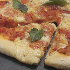 Pizza Margarita casera | Cocina y Comparte | Recetas de @cocinaalnatural
