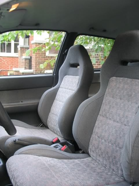 Swift GTi seats