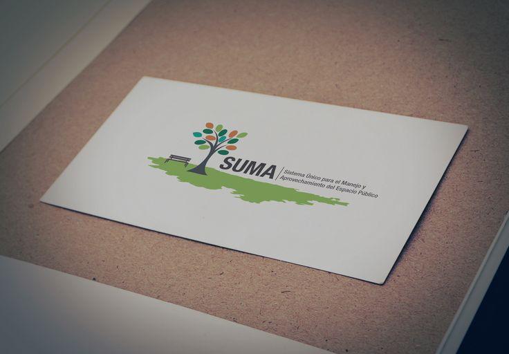 Diseño Logo - SUMA (Sistema Único para el Manejo y Aprovechamiento del Espacio Público)
