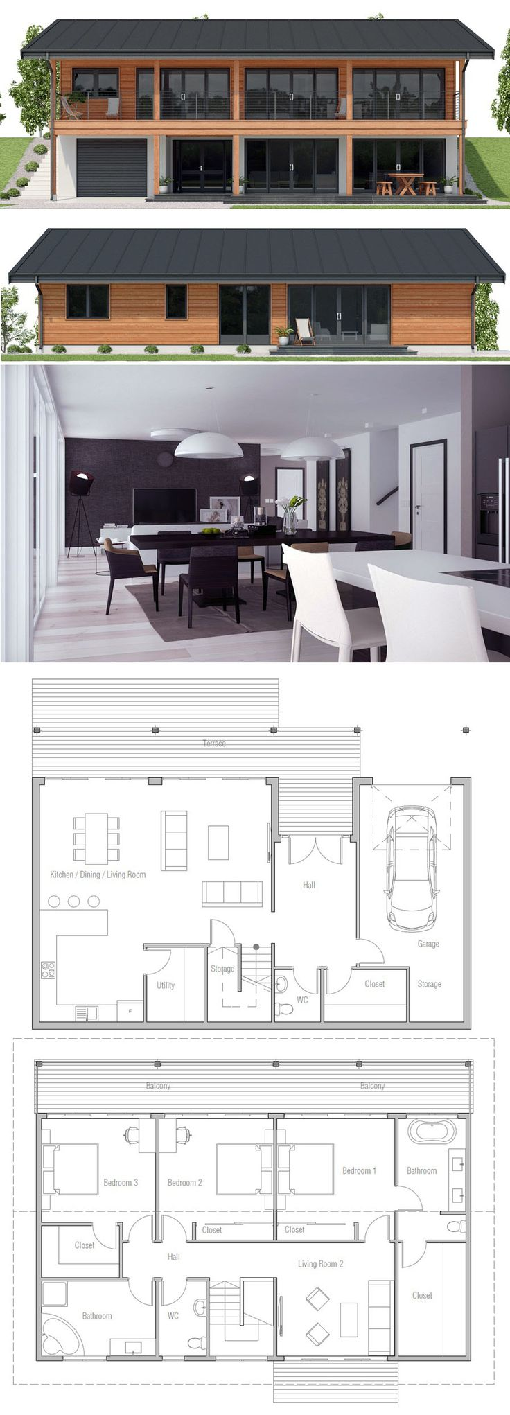 House plan 964 best House plan images