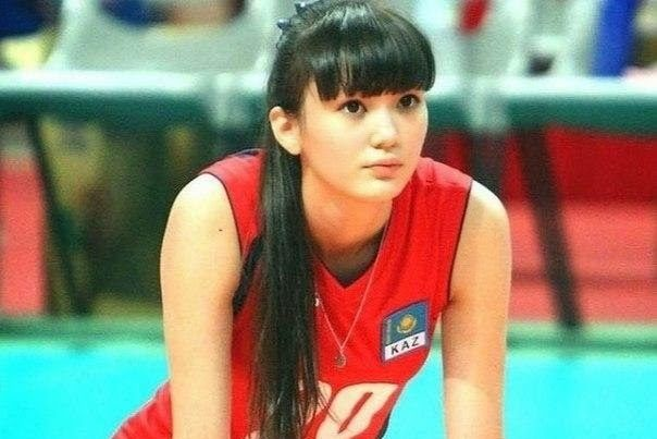 Kazakhstan volleyball player Sabina Altynbekova / Volleyball Player's Team and Coach Claim She's Too Attractive, Distracts Fans