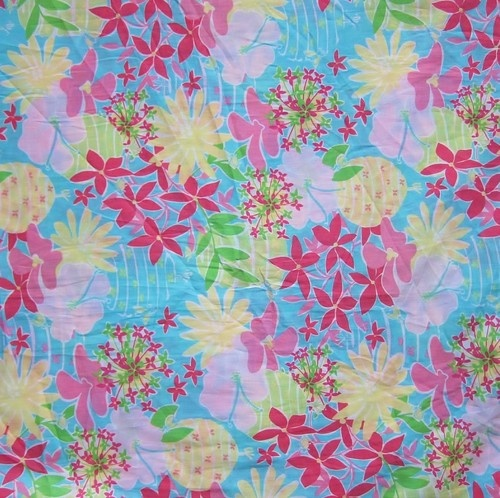 """Lilly Pulitzer's """"Blue Eyed Girl"""" print. www.floridanest.com"""