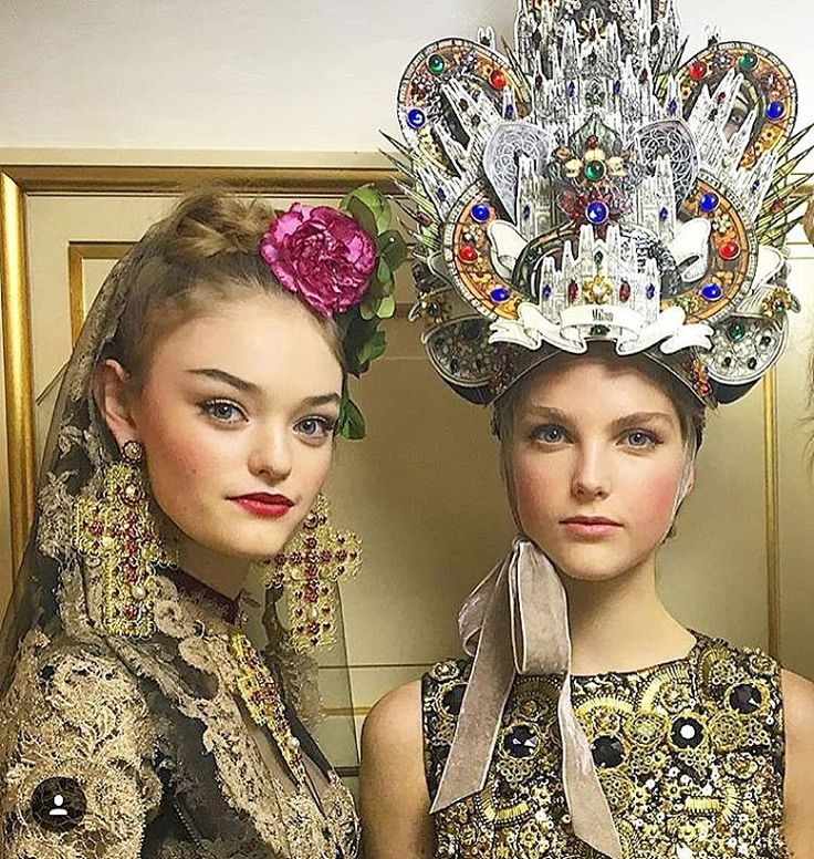 All the Beauty Eye Candy You Need to See From Dolce & Gabbana's Alta Moda Show | allure.com