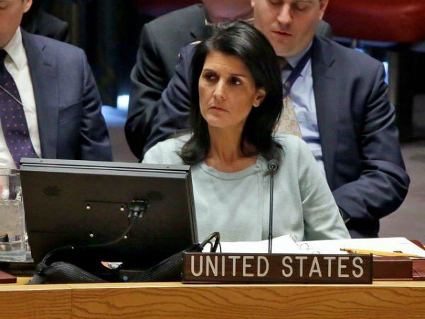 U.S. Ambassador Haley Blasts UN Report, Demanding Immediate Withdrawal Of Statement On Israel  Posted by Matthew Bernstein | Mar 16, 2017 | National Security