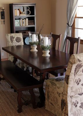 Pier 1 Indira Dining Table Bench Chairs