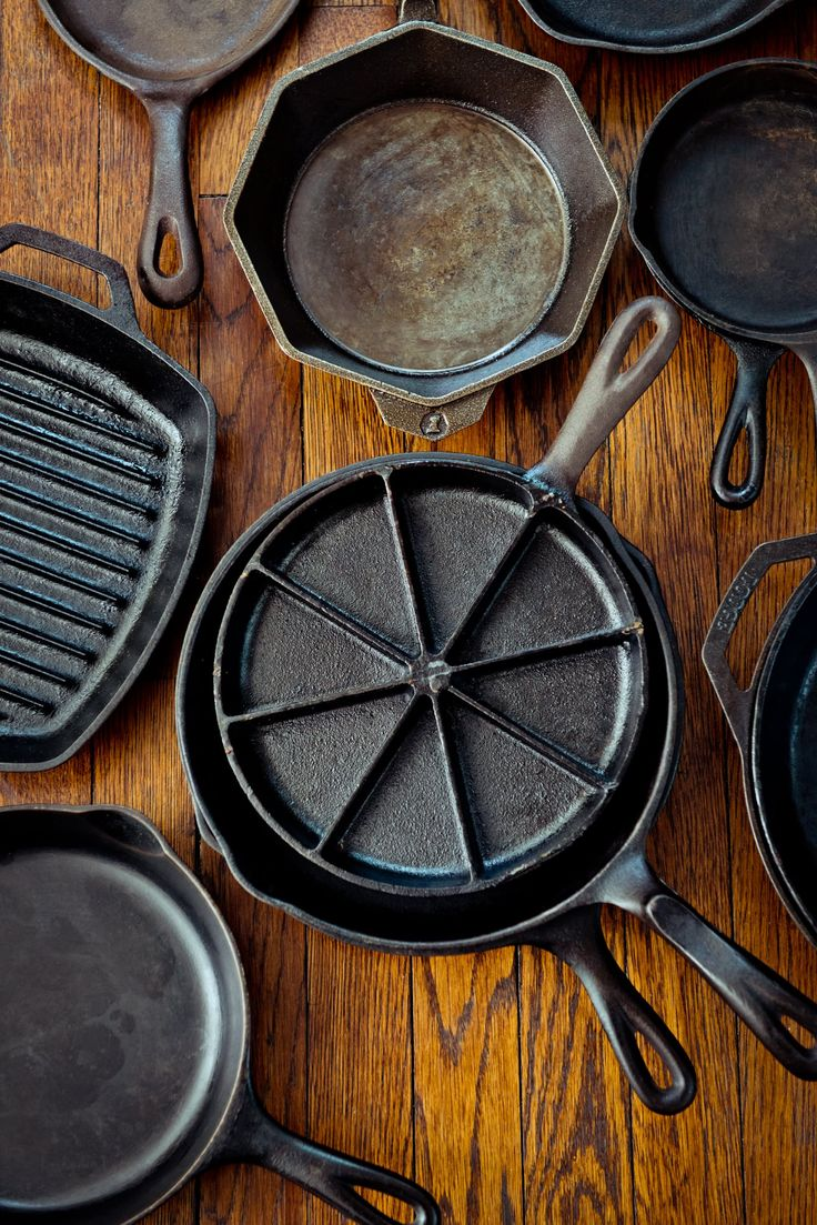 The Kitchn's Guide to Buying Vintage Cast Iron Cookware — Pan of Iron, Pan of Steel