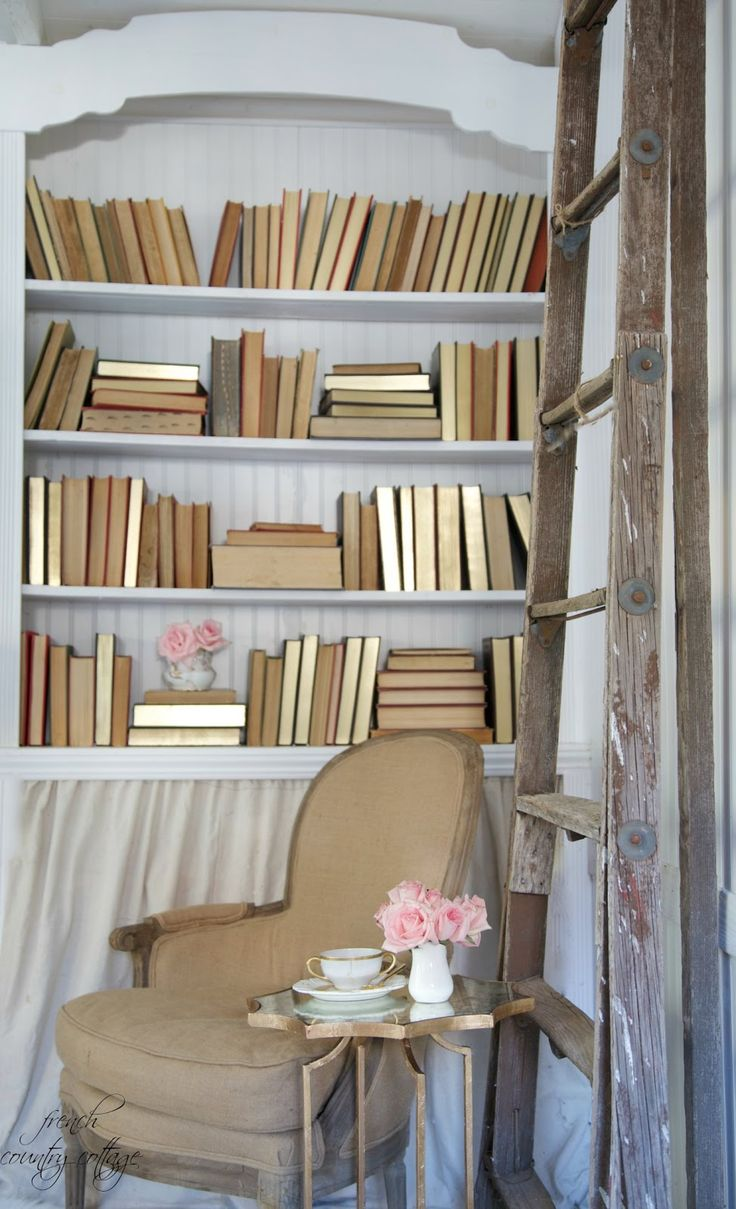 1000 images about decor decorating with books on for French country shelves
