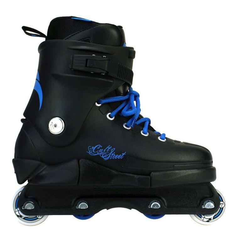 Razor Cult Street Blue Aggressive Inline Skate Complete