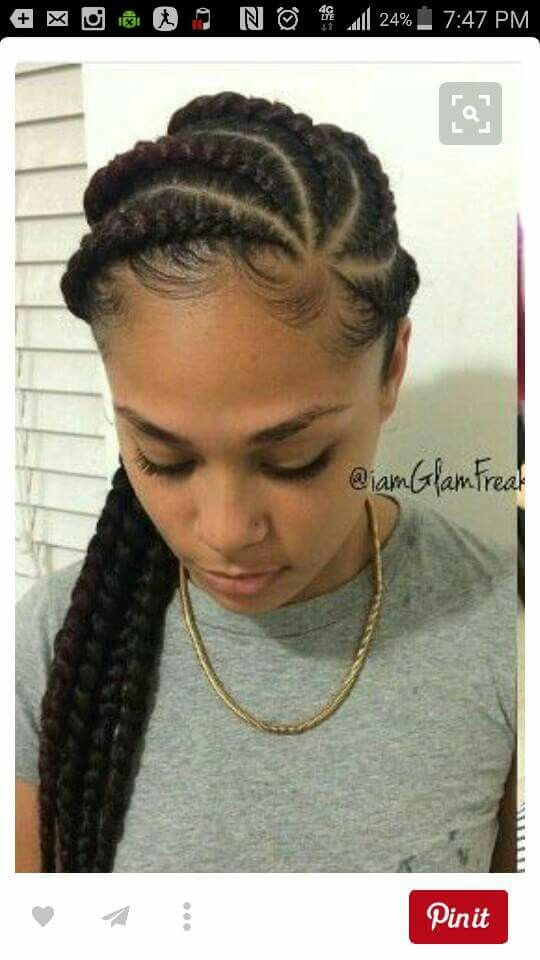 hair style for indian women 31 best feed in braids images on black 4634 | aa90795a43037228702c4634cd0a8a6b braid hairstyles protective hairstyles