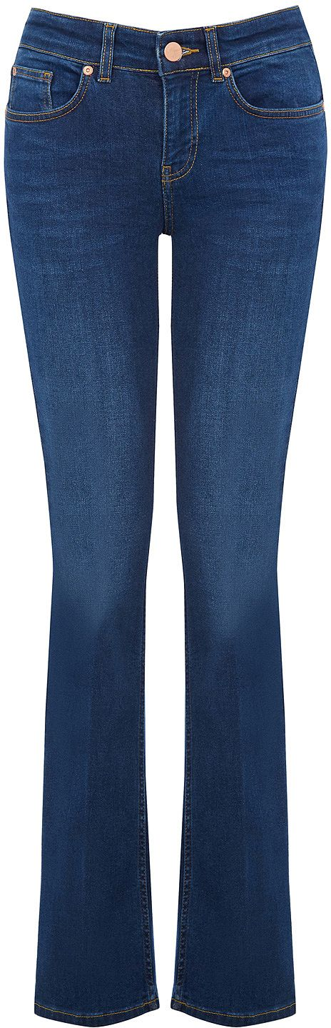Womens air force blue trousers from Oasis - £45 at ClothingByColour.com