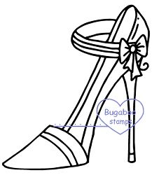 Heels - Strap Bow