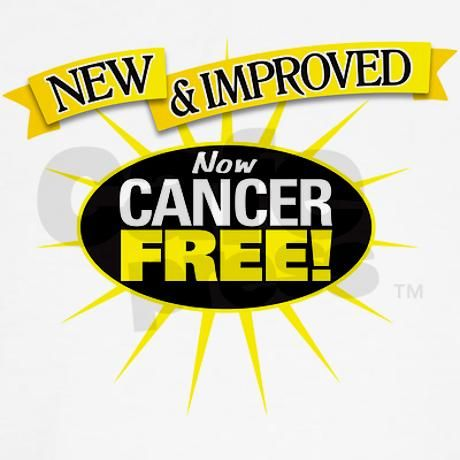 Cancer Free Kids T-Shirt on CafePress.com - I can't wait to get this for my son. <3