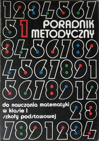 Poradnik metodyczny... | 1975 r. | projekt okładki / cover design: Piotr Kawiecki