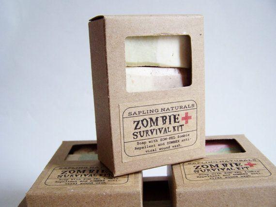 Zombie Survival Kit - travel size - great gift for men, nerds, survivalists