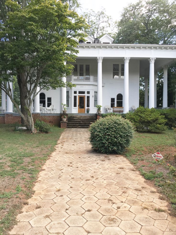 Historic Southern Mansion Commerce Georgia