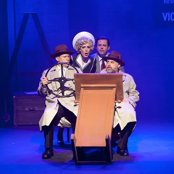 Sometimes Melbourne Theatre Talk: Review: The 39 Steps