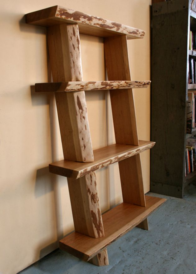 Live Edge Wood Shelf Natural Live Edge Shelving