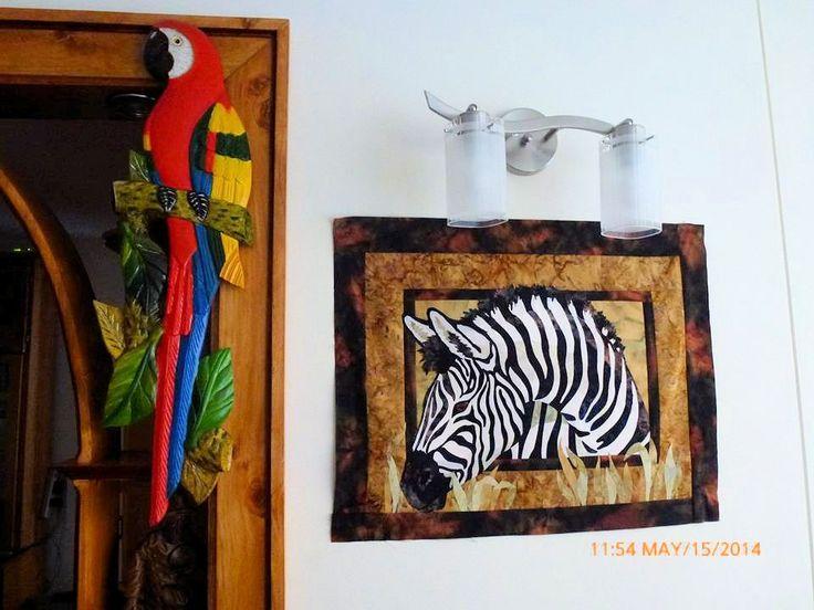 Zebra en Aplique