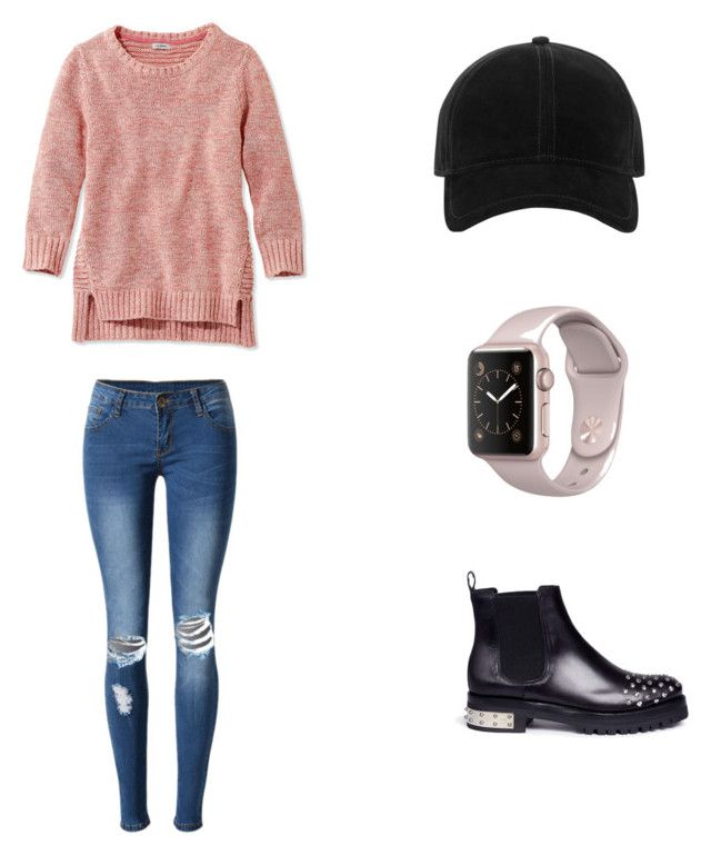 """""""Untitled #4"""" by kassiaraya on Polyvore featuring WithChic, Alexander McQueen, L.L.Bean and rag & bone"""