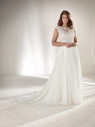 Die Zeiten, in denen Plus-Size-Bräute in 08/15-Kleidern heiraten mussten, sind endgültig vorbei. Hier kommen umwerfend schöne Designer-Brautkleider für Kurvenstars...