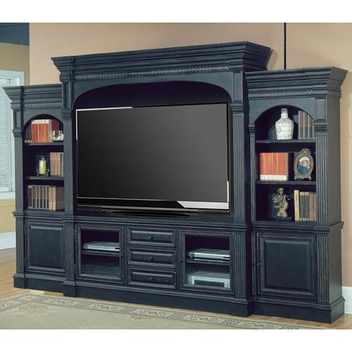 5 Piece 135 Entertainment Center Wall Unit Venezia By Parker House Wilcox Furniture Wall