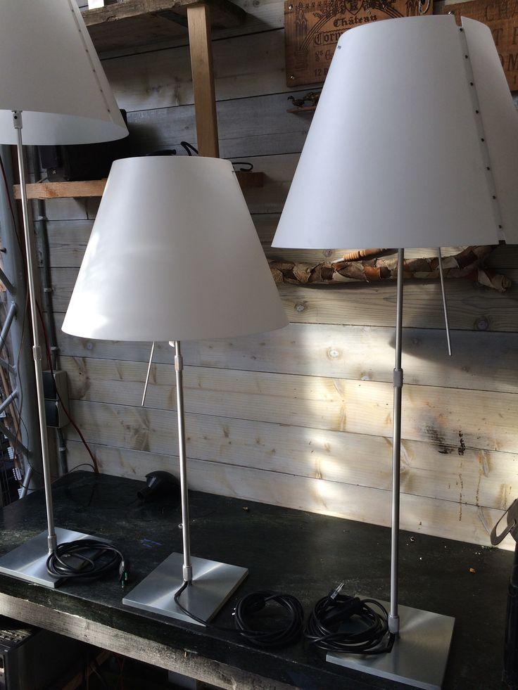 luce plan Constanze tafel lampen  Te koop