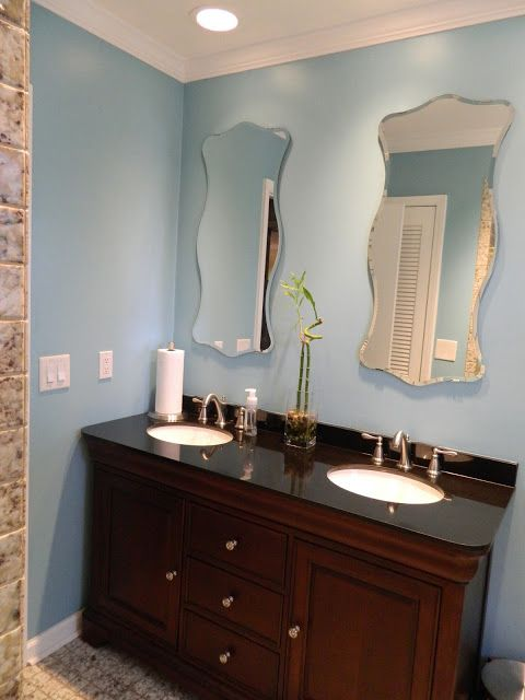 Best 25 Blue Bathroom Paint Ideas On Pinterest Bathroom
