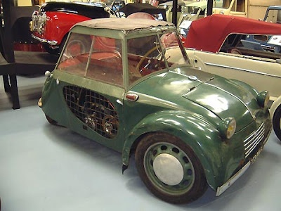 The Grataloup Is Probably the rarest car on the planet. There was one produced and there is one surviving. This microcar has a 247 cc engine which makes it much faster than the Mopetta.