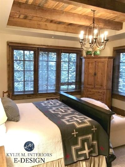 Mountain Contemporary Style Bedroom Sherwin Williams Balanced Beige Neutral Kylie M Interiors E Design Wood Furniture 2 Smallroomfurniture