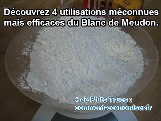 à quoi sert le blanc de meudon, 4 utilisations efficaces