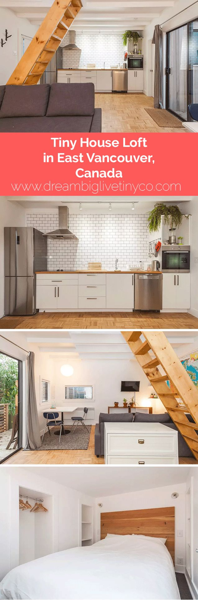 Tiny House Loft in East Vancouver, Canada