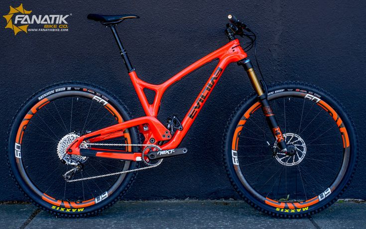 evil bikes following orange