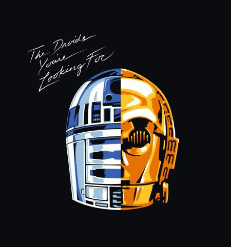 The droids you're looking for... T-Shirt