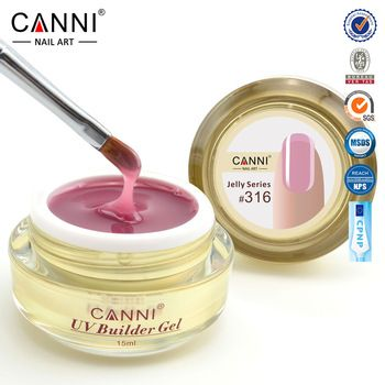 #50951 2017 newest CANNI 15ml 25 colors semi color solid transparent color extension uv camouflage hard jelly builder stand gel  Price: 3.53 USD