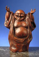 Over the years I have collected laughing fat Buddha's so now I have quite a few of them dotted around the house and I confess that I love...