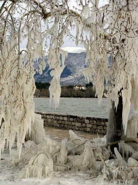 Ioannina, Lake Pamvotis, Epirus region, Greece