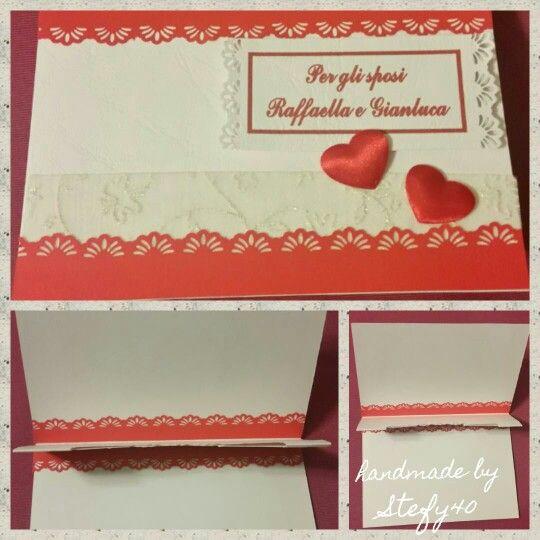 Wedding card - card - biglietto per matrimonio portasoldi