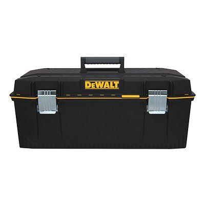 DeWalt Tool Box, Structural Foam With Pull-Out Tote, 28-In.: Model# DWST28001 | True Value