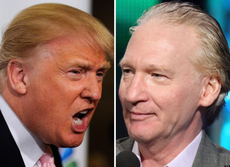 Bill Maher VS Donald Trump 2015 - The Full Story Part 2