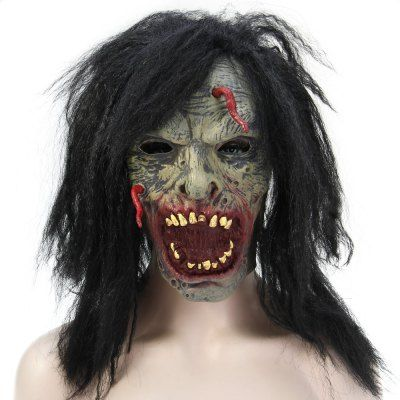 #Halloween Latex Zombie Ghost Face Mask