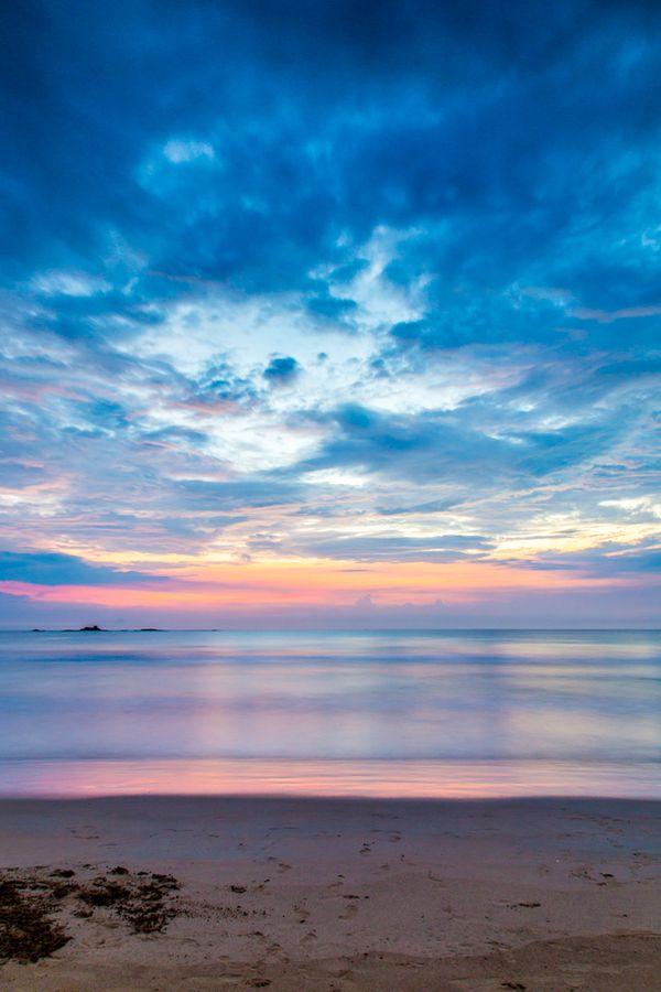 Bentota Beach sunset, Sri Lanka