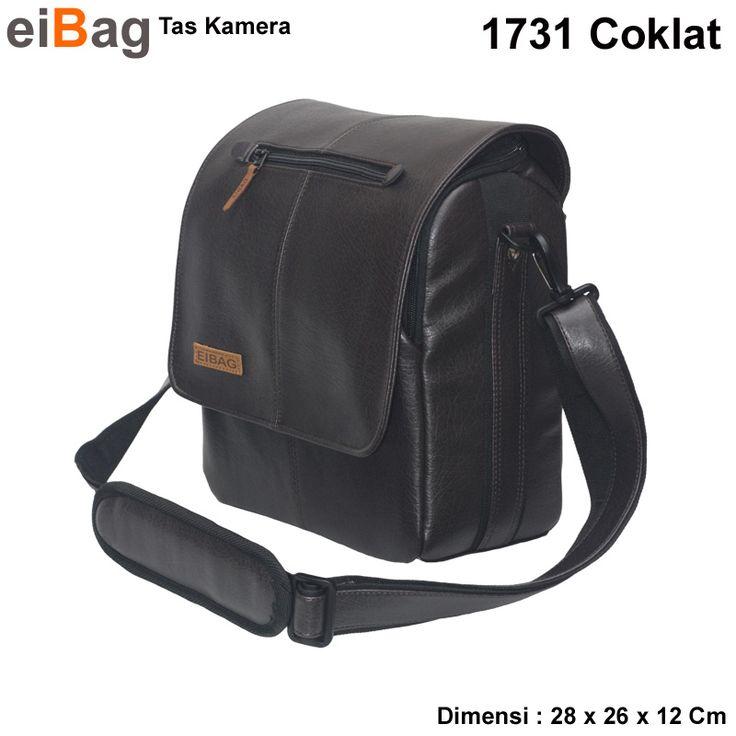 Tas Kamera Bandung Kode EIBAG 1731 Coklat Tua - KATALOG BANDUNG