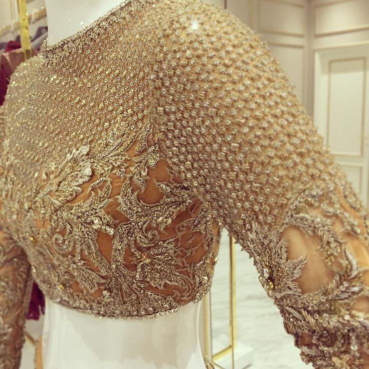 Pakistani couture blouse. FM