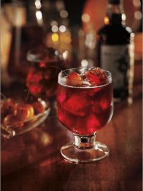 INGREDIENTS  1 (750 mL) Bottle CAPTAIN MORGAN® Black Spiced Rum 1 (750 mL) Bottle White Zinfandel 24 oz. Pineapple Juice 1 (2 L) Bottle Lemon-Lime Soda 4 Limes, Sliced 30 Cherries  DIRECTIONS  Chill all ingredients. In a large punch bowl, combine CAPTAIN MORGAN® Black Spiced Rum, Wine, Pineapple Juice, and Soda. Add a large block of ice. In each wine glass, add two cherries and a slice of lime, crushing the fruit with a spoon to extract the juices. Ladle punch into the prepared glasse