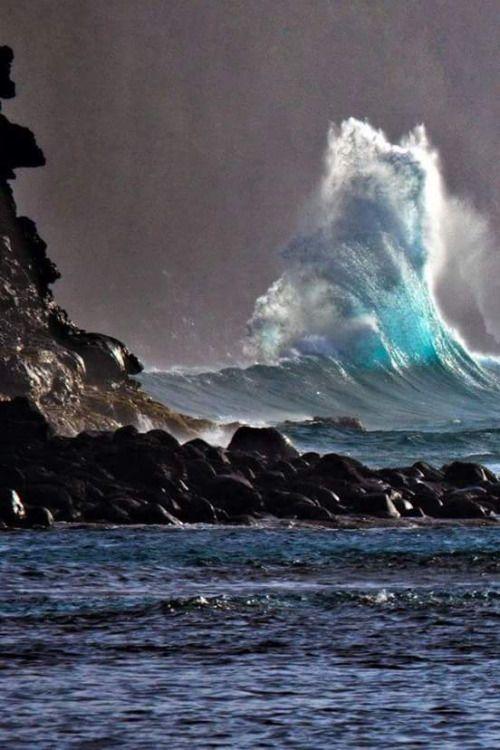 Best Beautiful Ocean Images On Pinterest Water Ocean Waves - Incredible photographs of crashing ocean waves by ben thouard